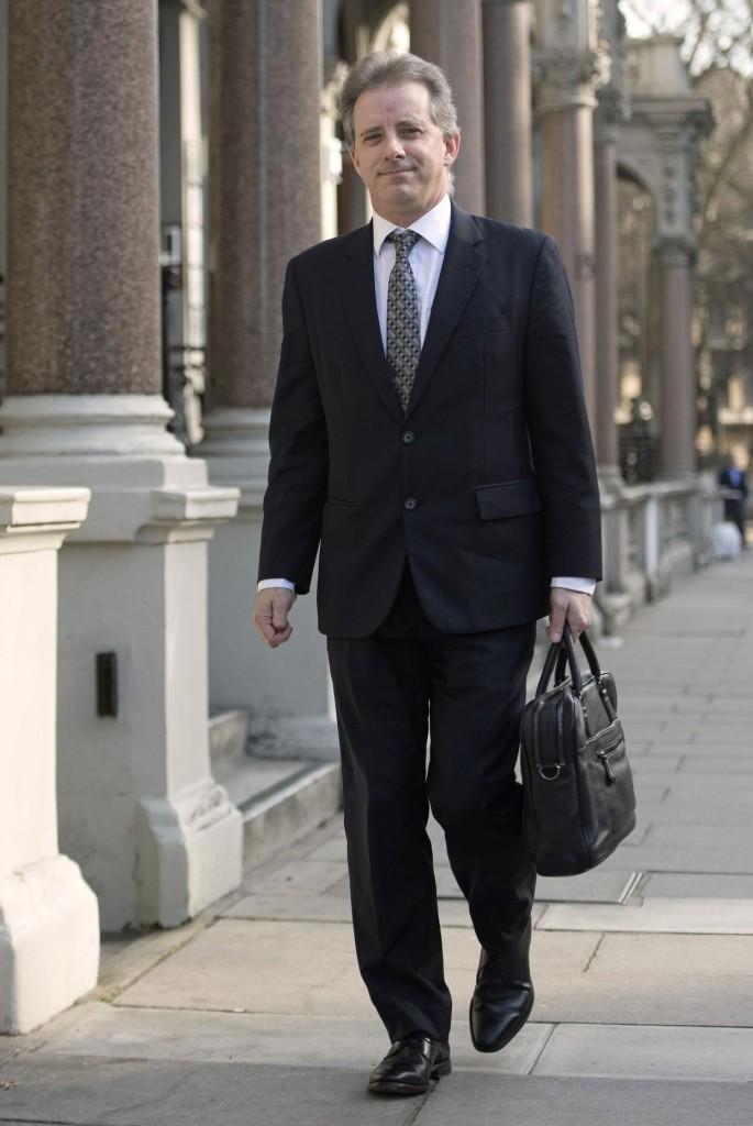 Christopher Steele former MI6