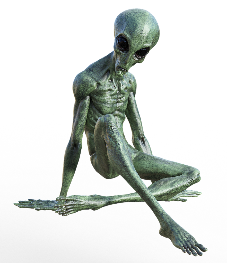 Alien Humanoid depiction