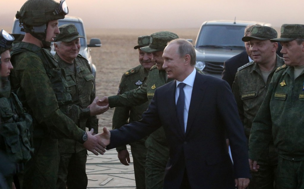 Putin & Russian troops in Syria
