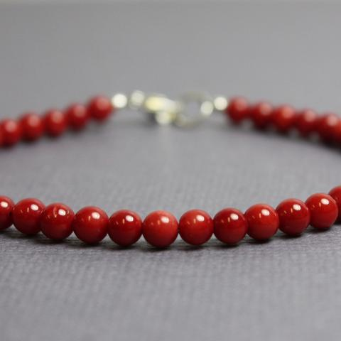 Bamboo Coral Bracelet