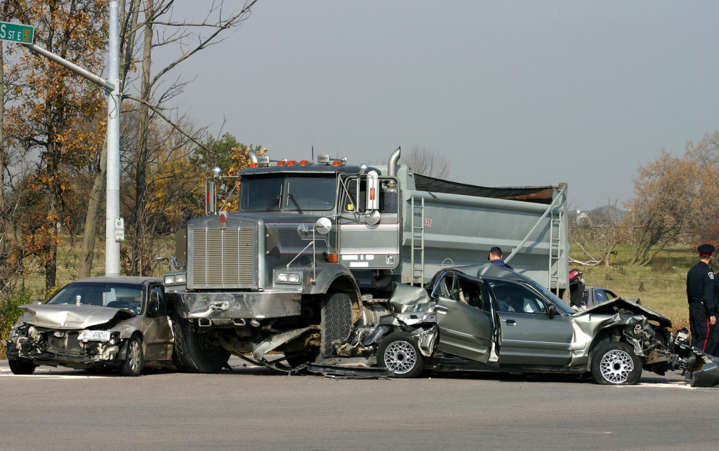 Truck & Car Accident