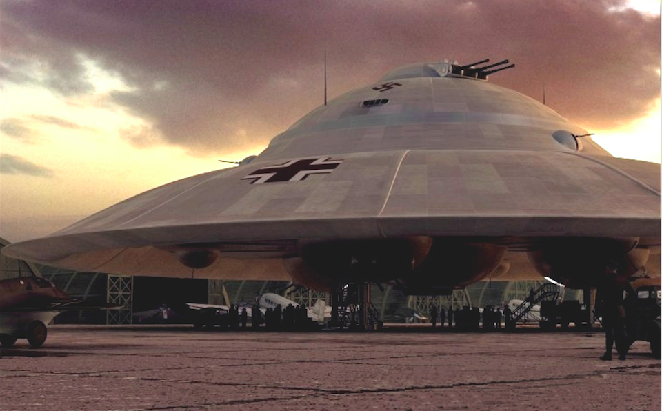 Purported Nazi Spaceship