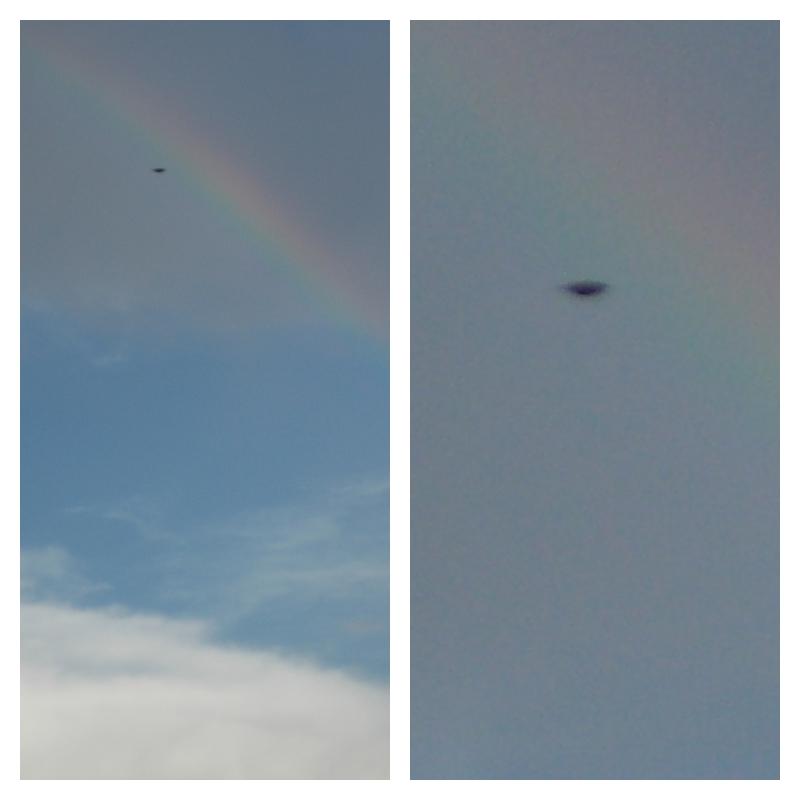 UFO Near Area 51