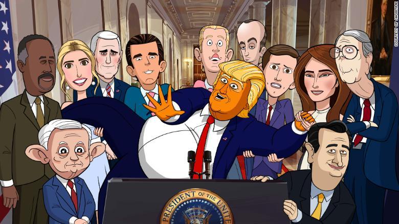 Trump Admin Cartoon Showtime