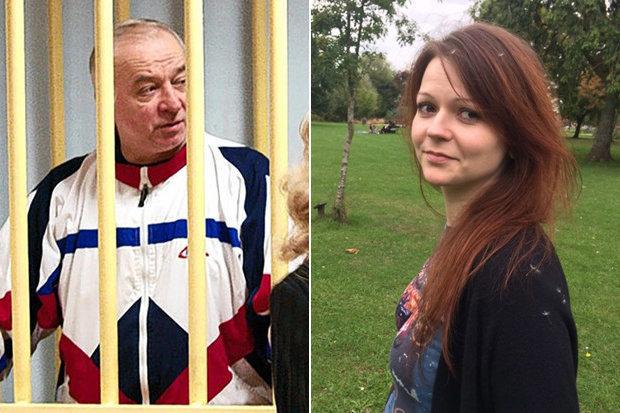 Sergei Skripal & Daughter