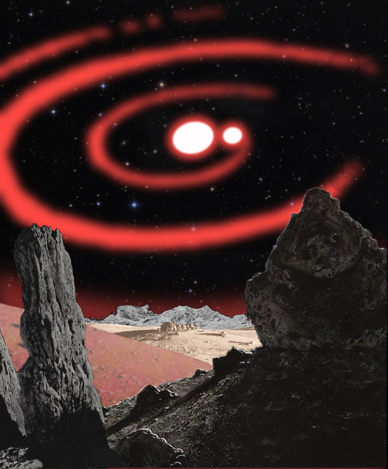 Planet with Binary Star System