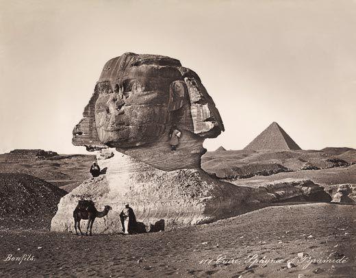 Sphinx 1800s