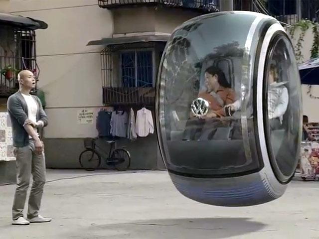 VW Bubble Hover Car