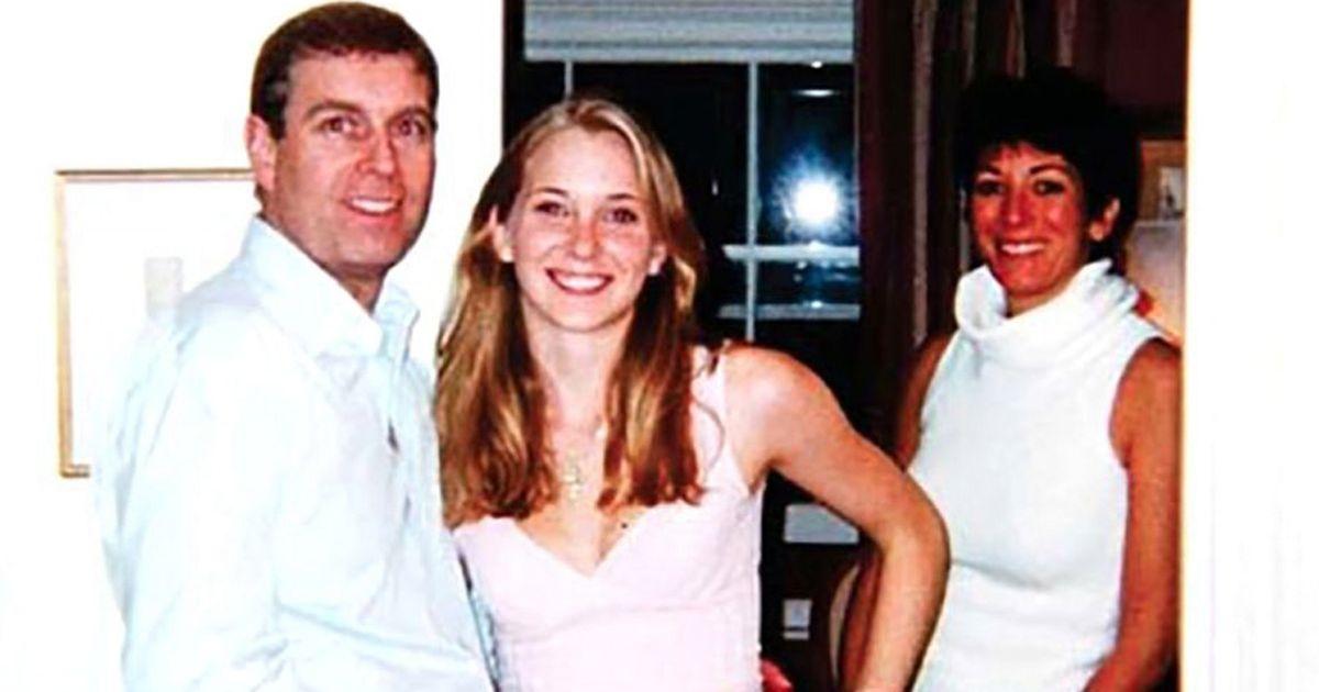 Prince Andrew, Virginia Roberts, Ghislaine Maxwell