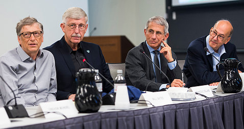 Bill Gates and Anthony Fauci