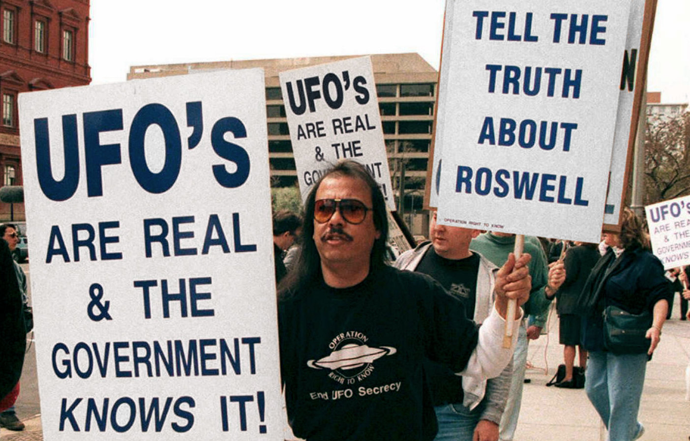 UFOs are Real Demonstration