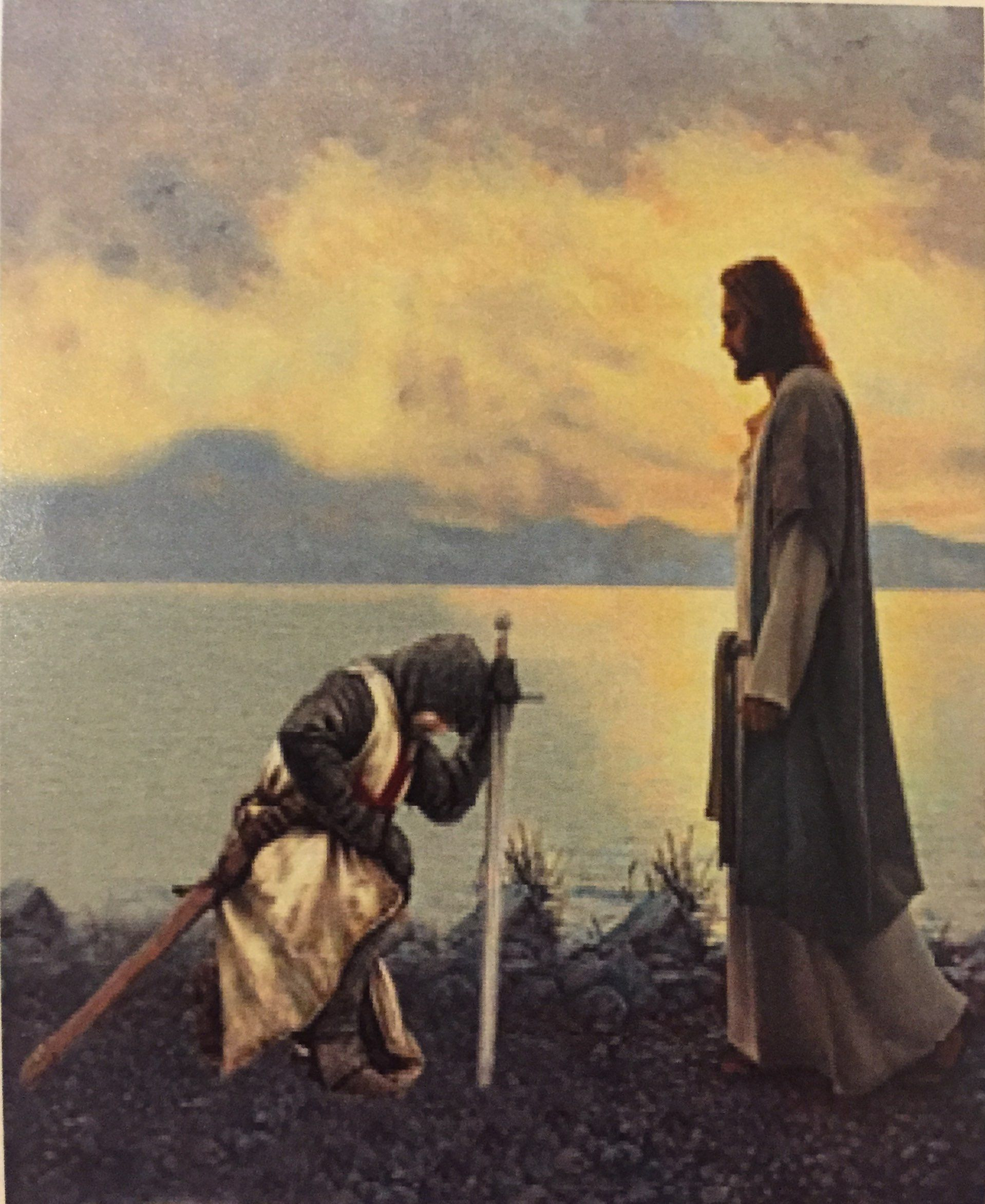 Jesus and Knight Templar